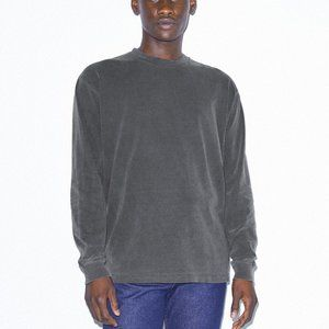 American Apparel Heavy Jersey Long Sleeve Box T-Sh